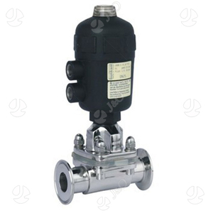 Hygienic Stainless Steel Pneumatic Clamp Type Diaphragm Valve