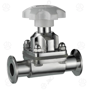 Sanitary Stainless Steel Manual Forged Tri-Clamp Diaphragm Valve