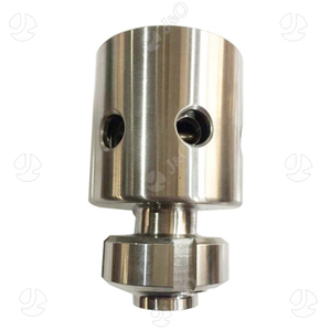 Sanitary Stainless Steel Pressure Vacuum Relief Valve With Union Ends
