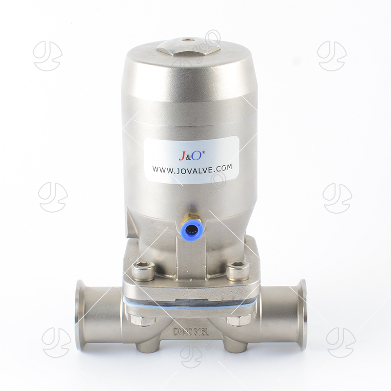 Stainless Steel Hygienic Forged Pneumatic Clamp Diaphragm Valve