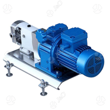Sanitary Stainless Steel Food Grade Frequency Converter Rotor Lobe Pump for Transfer High Viscosity Product Liquid